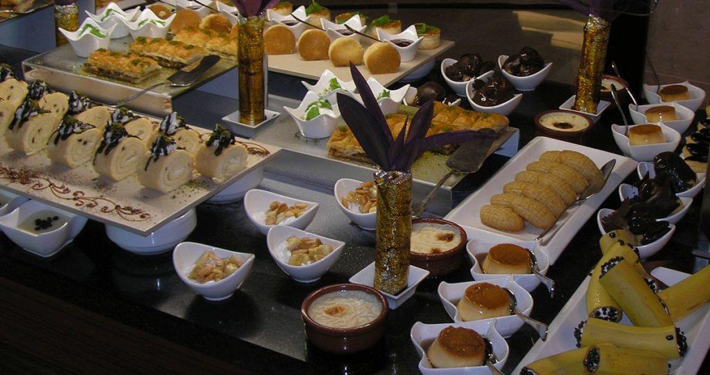 Турецкие сладости кухня