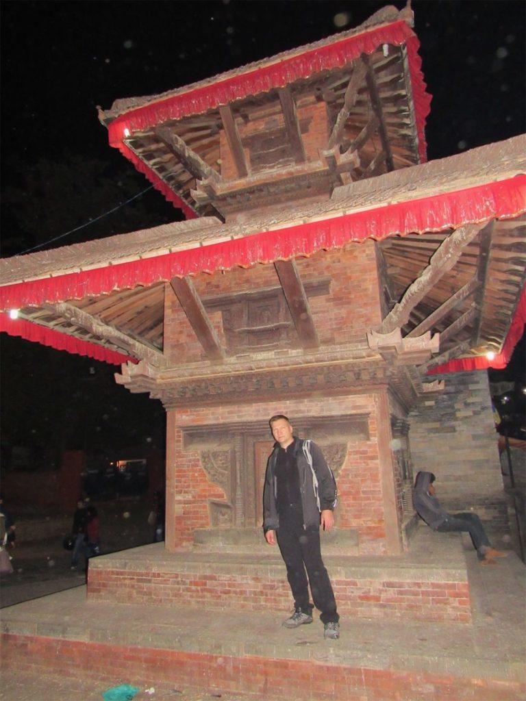 Площадь Дурбар в Катманду Непал