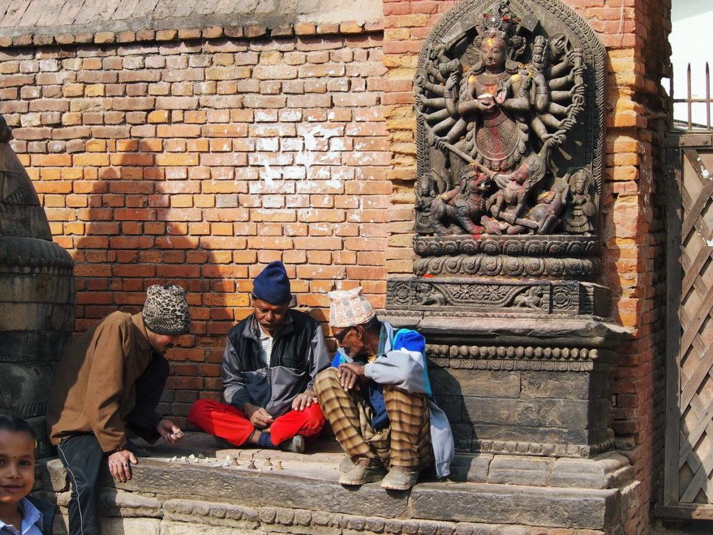 скульптуры богов площадь Дурбар в Катманду Непал