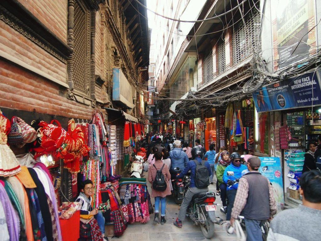 Рынок в Катманду