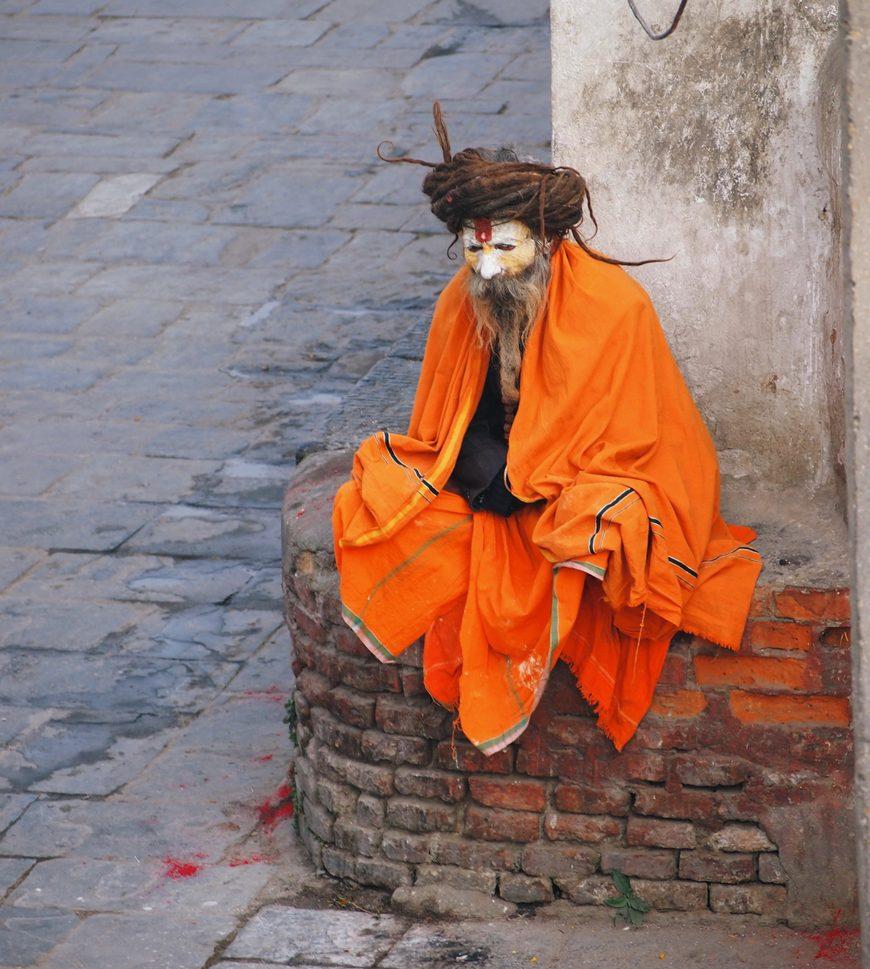 колорит какофонии улиц Катманду