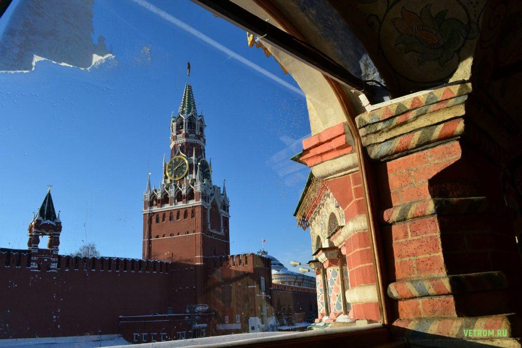 Культурные достопримечатльности Москвы - Московский Кремль