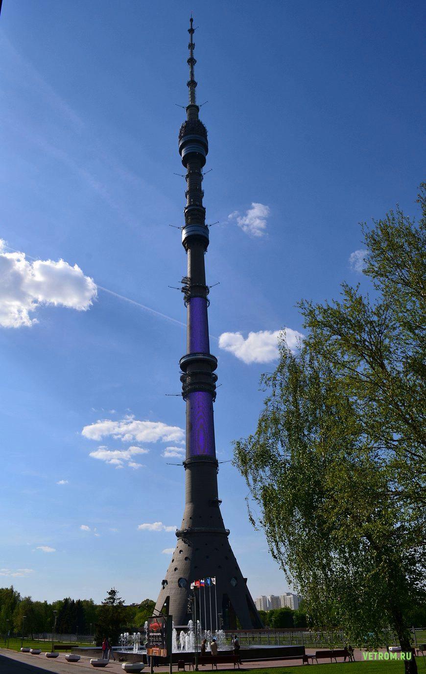 Останкинская теле башня
