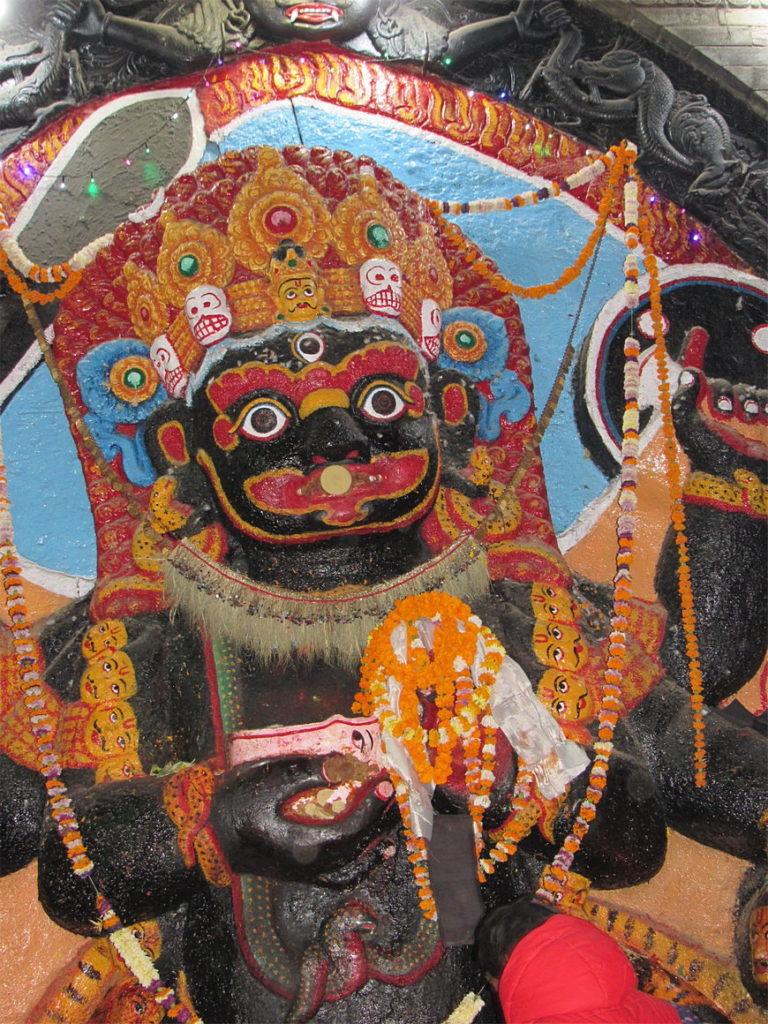 Божества в Индуизме Брахма, Вишну и Шива