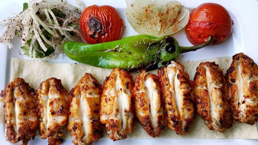 Турецкий кебаб национальная кухня Турции