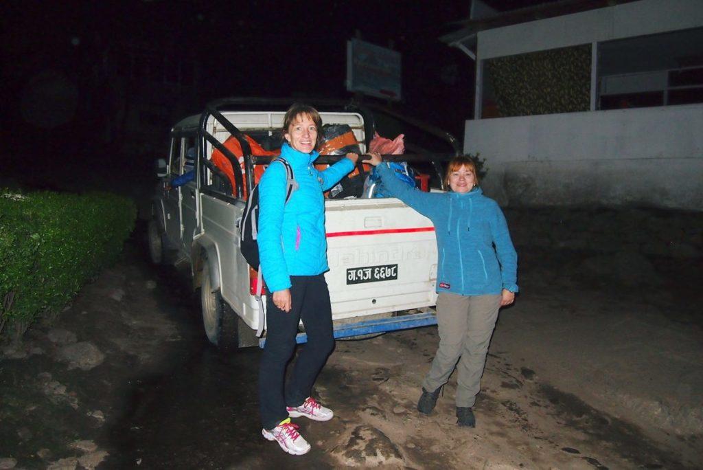 Прибыли в Джагат, Непал