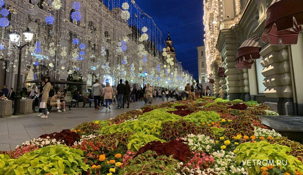 Москва в цветах - хобби туризм для любителей цветов