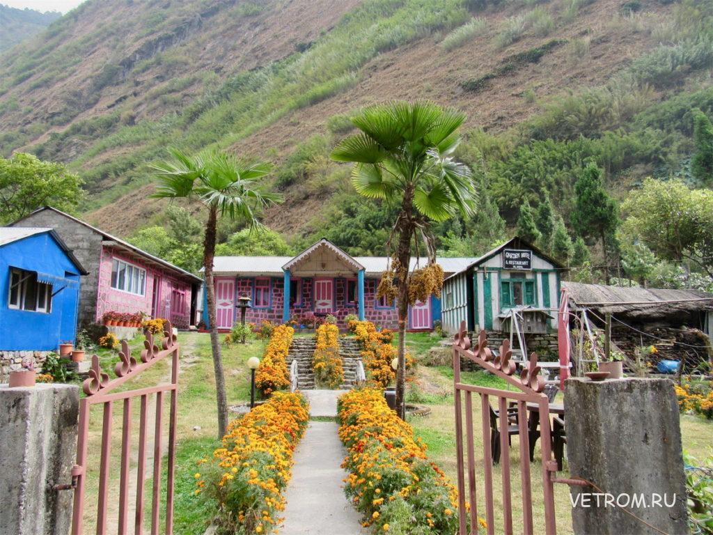 Гостевой дом гостиница в деревне Тал Непал