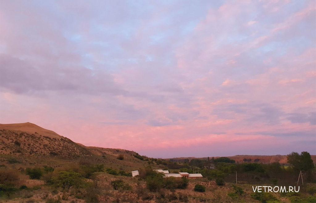 Поездка в Дагестан - закаты в пустыне
