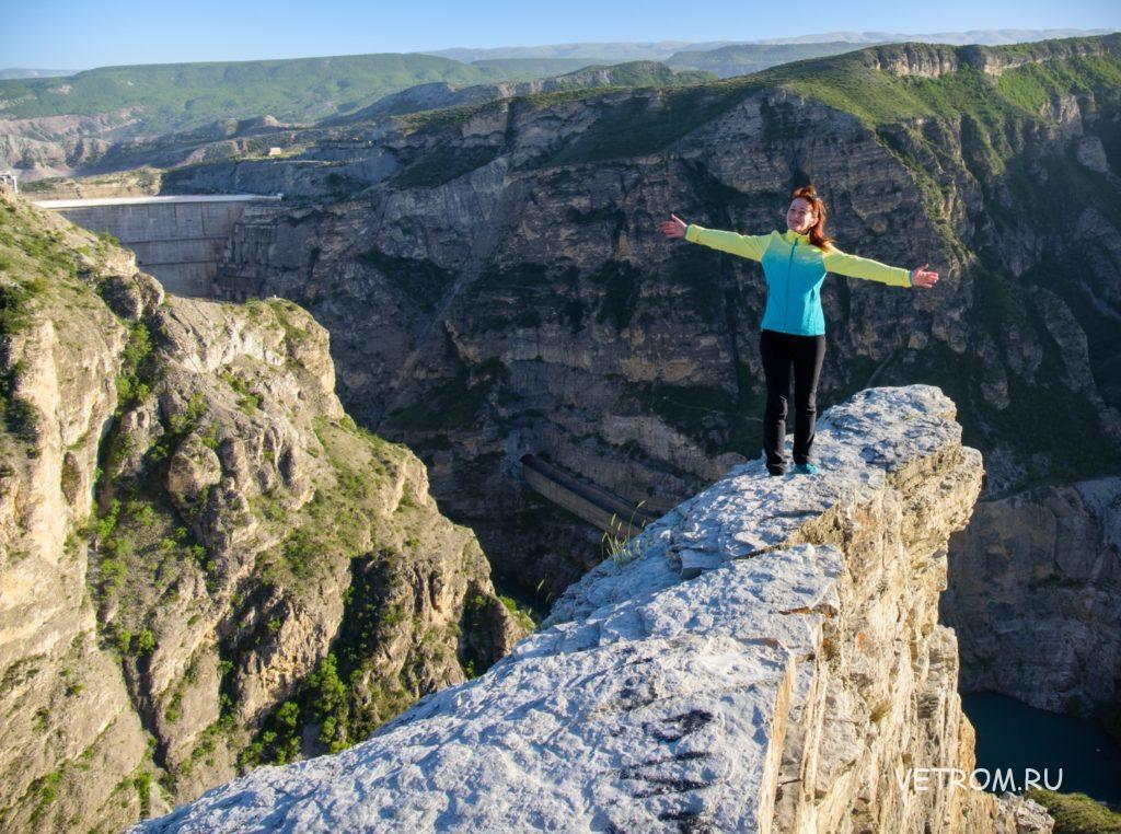 Скальный выступ Сулакский каньон