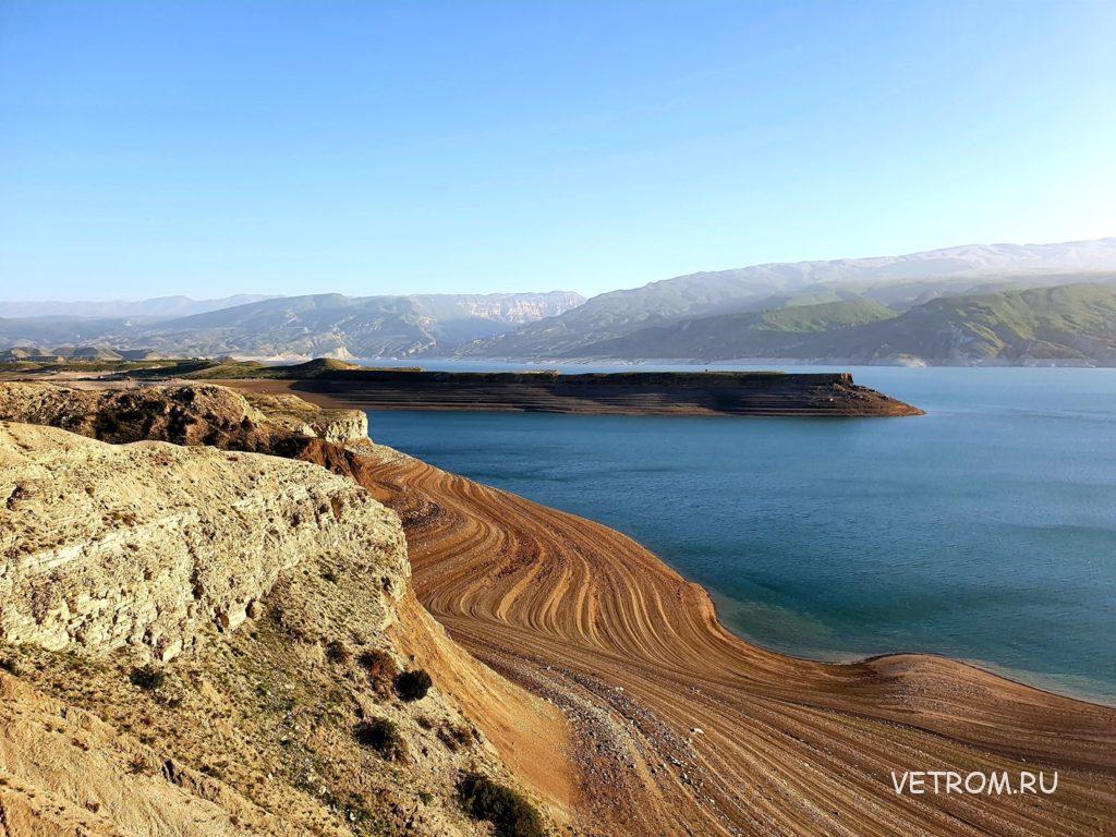 Чиркейское водохранилище в Дагестане