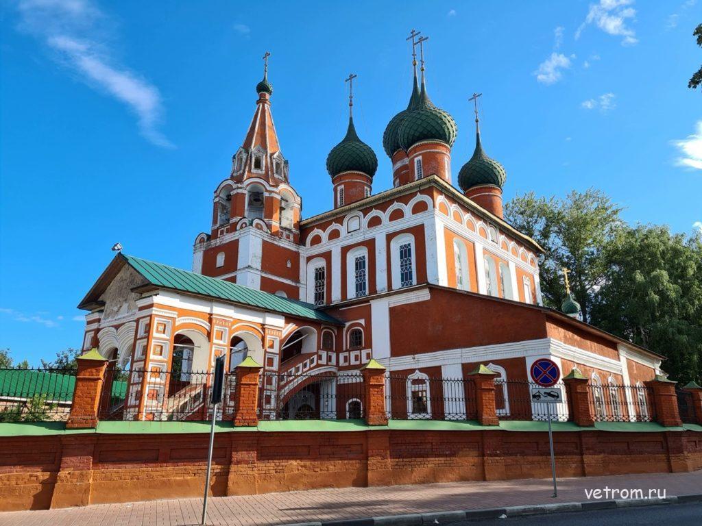 Церковь архангела Михаила достопримечательности Ярославля