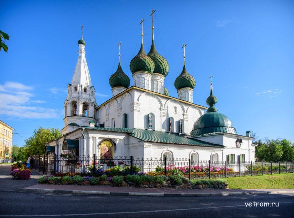 Церковь Спаса на Городу достопримечательности Ярославля