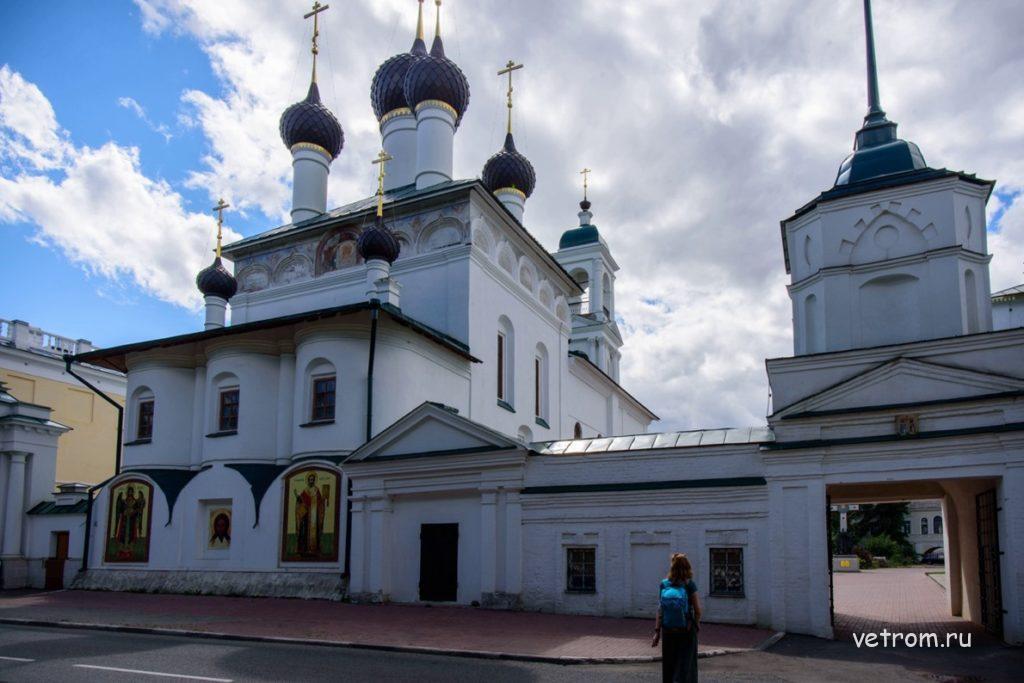 Спасо-Афанасиевский Ярославский мужской монастырь
